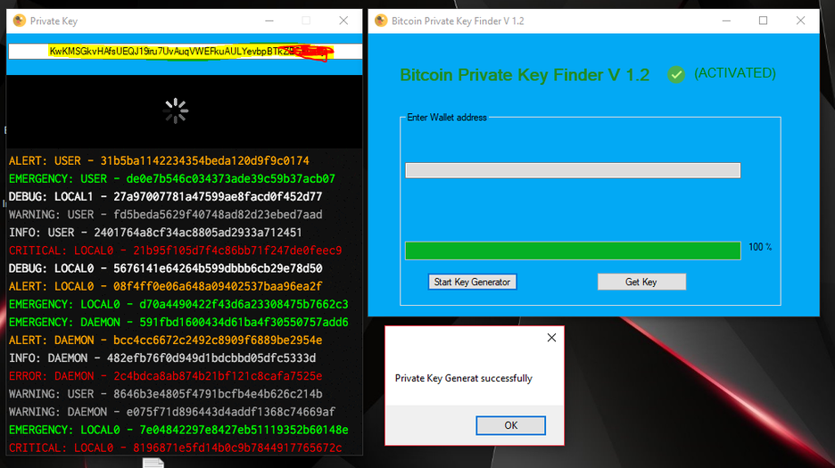 Bitcoin private key finder - Home